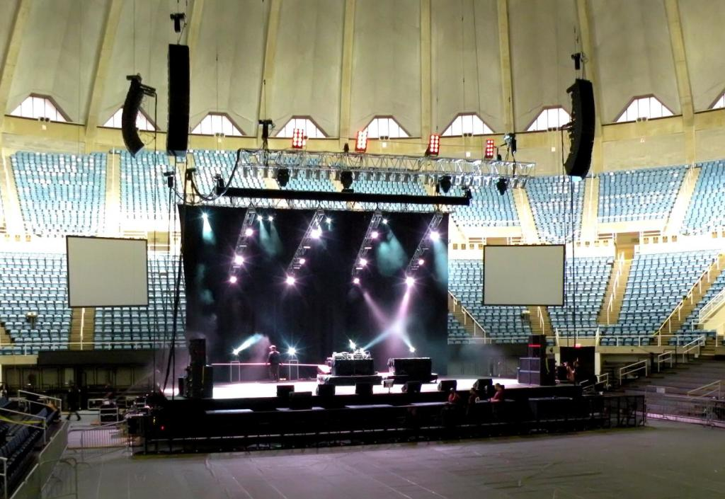 Arena Flex, Lighting