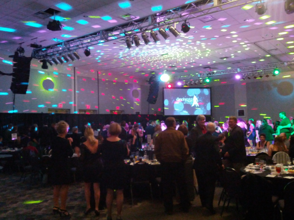 Ballroom Corporate, Mirrorball, Lighting