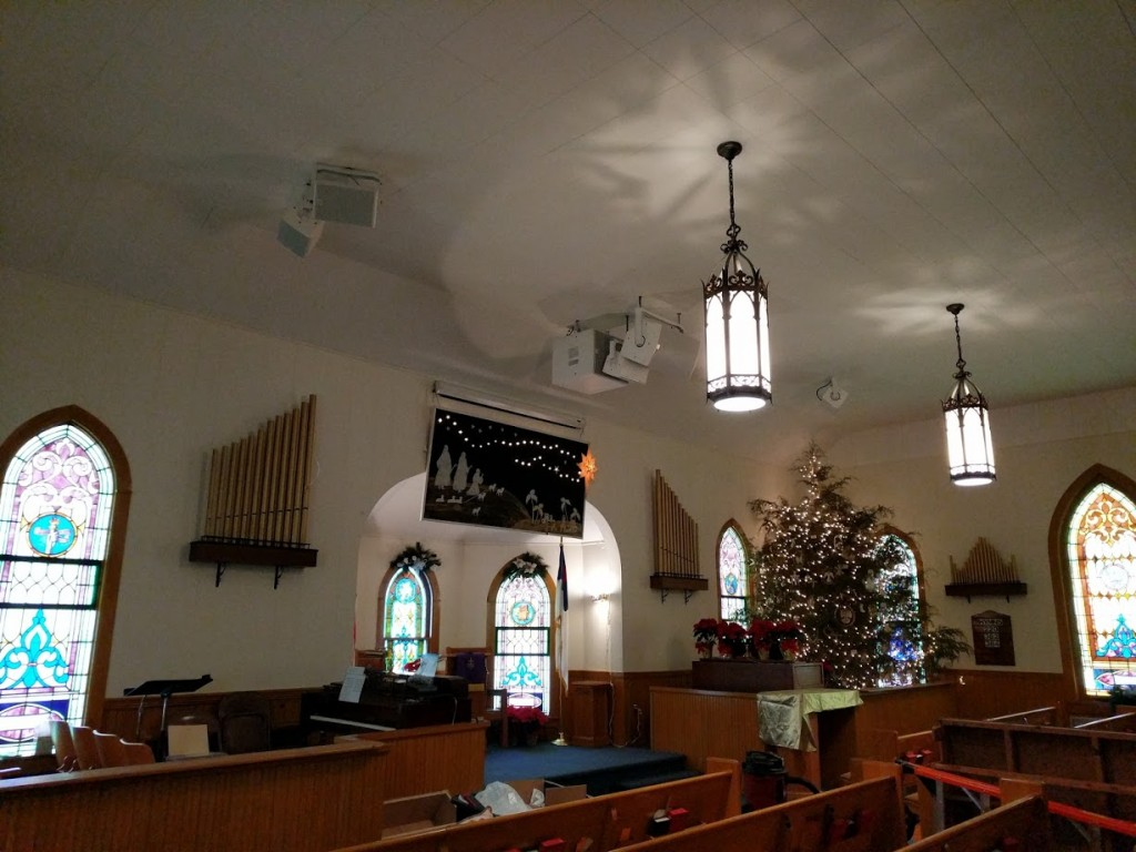 Martin Audio Church Installation