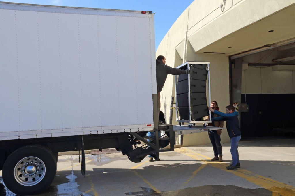 Unloading the Truck